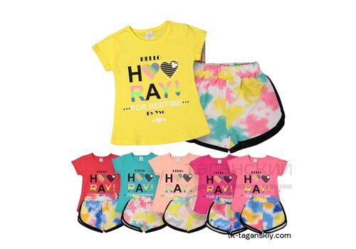 Комплект на девочку: шорты и футболка, image 1