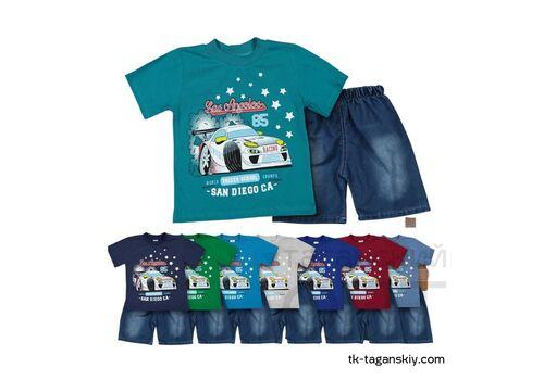 Комплект на мальчика: шорты и футболка, image 1