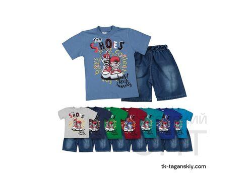 Комплект на мальчика: шорты и футболка, image 2