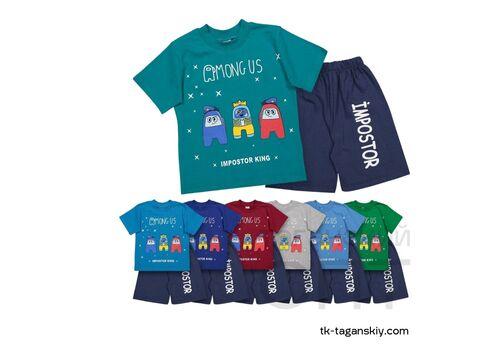 Комплект на мальчика: шорты и футболка, image 3